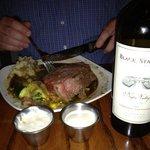 Dinner at Murphy's (Prime Rib & Black Stallion Wine)