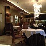 Interieur Restaurant Merlet.