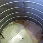 empty fermenter tank