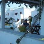 moment wifi sur la terrasse