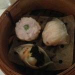 Three different dim sum