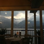 View from the restaurant recommendation