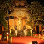 Ubud Palace and the most famous stage in he mountains of Bali