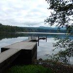 Lake Padden dock.