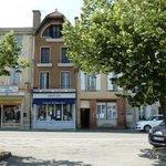 spot on centre in heart of pretty Bastide village
