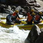 A good base to stay to try the rafting at Royal Gorge ziplining and rafting