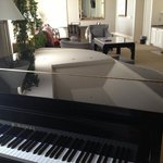 Piano anyone? Fairmont Suite