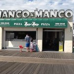 BEST PIZZA.   MANCO AND MANCO ON 9 th street
