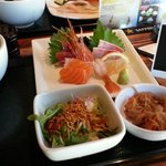 Lunch: Sashimi Set $12.95