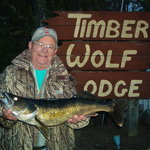Timber Wolf Lodge - night fishing for walleye!