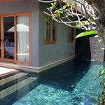 Two bedroom villa pool