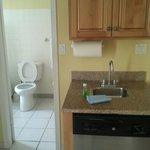Dishwasher & Clean Bathroom