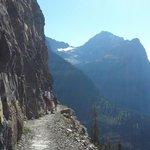 Hiking Highline Trail