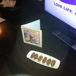 Chocs and Birthday card!