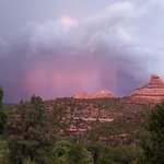 Lightning Storm from Sedona Views B&B