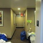 Corridor on 7th floor.