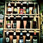 great selection of bottled beers from all over the globe!