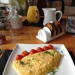 World's fluffiest omelet
