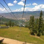 View from mountain overlooking Beaver Creek