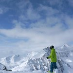 Take time out and enjoy the view at Marmot Basin