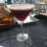 Blueberry Lychee Martini
