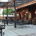 outdoor seating patio