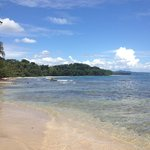 Playa Chiquita (3min walk from hotel)