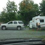 outside camper area
