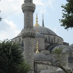 The Blue Mosque - nearby