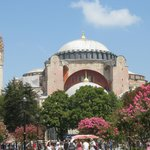 The Hagia Sophia - nearby