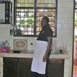 Chef! Love the apron :)