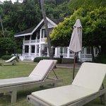Panwa House restaurant on private beach Cape Panwa Hotel