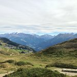 uitzicht van op de berg