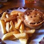 Pie & Chips. Lush