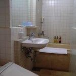 バスルームが広くて楽でした