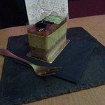 Grüner Tee – Sesam Kuchen