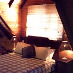 Duffy's attic bedroom
