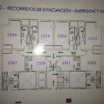 plan of the second building, avoid room 2321 it's very small