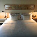 お部屋のベッドルーム