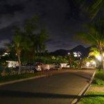 Main road in Esmeralda Resort leading to Astrolabe
