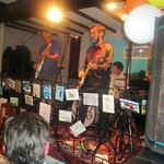 The great Peter Bruntnell band playing at the Ship Inn