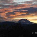 sunrise view mount kinabalu