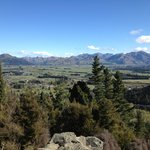 from the top of Mt Isobel
