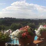 Panorama dalla terrazza ristorante