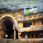 Bhaja Caves near Malavli, Lonavala, Maharashtra