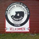 L'insegna del camping, bellissima e chiara