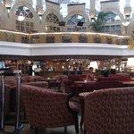 Bar nel lobby a piano terra con pianobar