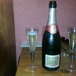 Le champagne en chambre