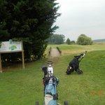 Golf course at Blois