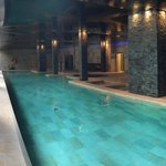 Beautiful indoor SPA pool - open to adults and kids for free